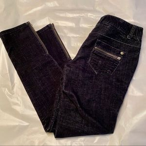 International concepts jeans with zippers